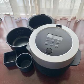 バルミューダ(BALMUDA)のBALMUDA バルミューダ 炊飯器(炊飯器)