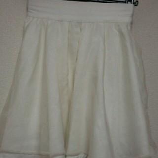 ワンアフターアナザーナイスクラップ(one after another NICE CLAUP)のナイスクラップのオーガンジースカート(ミニスカート)