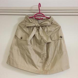 プロポーションボディドレッシング(PROPORTION BODY DRESSING)のプロポーション ボディドレッシング/手結びウエストリボン付きスカート(ひざ丈スカート)