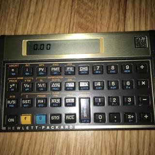 ヒューレットパッカード(HP)のHP12C 金融電卓(オフィス用品一般)