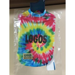 ロゴス(LOGOS)のLOGOS ブルー Sサイズ タイダイシャツ 犬服(犬)