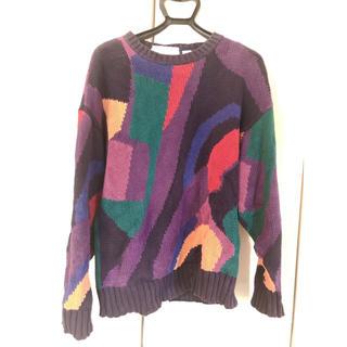 Vintage Multi-Color Knit(ニット/セーター)