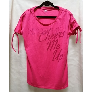 キスマーク(kissmark)のkissmark レディースシャツ フィットネス(Tシャツ(半袖/袖なし))