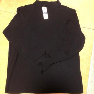 ジーユー(GU)のスムースモックネックセーター(ニット/セーター)