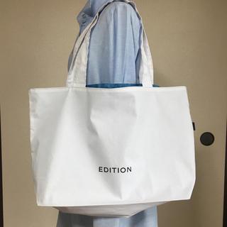 エディション(Edition)のEDITION ショップ袋 リメイク 大(ショップ袋)