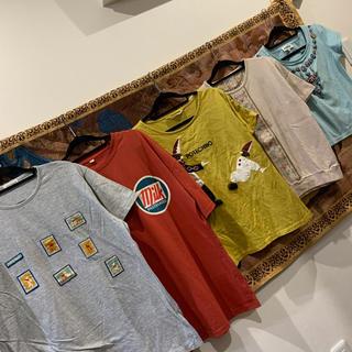昭和 レトロ ヴィンテージ 個性的 古着 Tシャツ 5着セット まとめ売り(Tシャツ(半袖/袖なし))