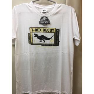 ユニバーサルエンターテインメント(UNIVERSAL ENTERTAINMENT)の新品 恐竜 ジュラシックパーク Tシャツ 半袖 ジュラシックワールド USJにも(Tシャツ/カットソー(半袖/袖なし))