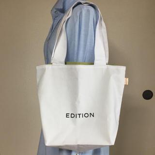 エディション(Edition)のEDITION  ショップ袋 リメイク 小(ショップ袋)
