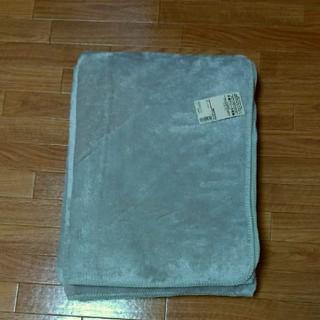 ムジルシリョウヒン(MUJI (無印良品))の無印良品 片面フリース毛布 ライトベージュ(毛布)