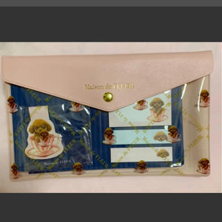 メゾンドフルール(Maison de FLEUR)のメゾン ド フルールのマルチケース付きステーショナリー5点セット(ノート/メモ帳/ふせん)