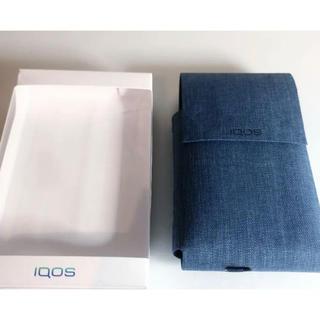 アイコス(IQOS)の新品未使用品★IQOS★ディオホルダーケース★ネイビー(タバコグッズ)
