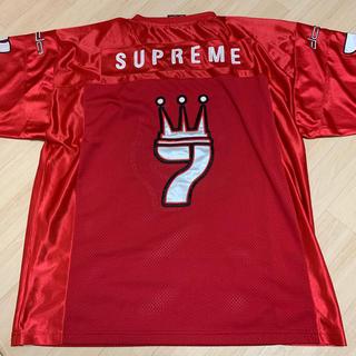 ダダ(DADA)のDADA supreme フットボールシャツ 人気のレッド サイズXL(アメリカンフットボール)