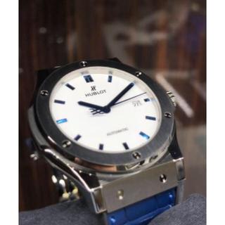 ウブロ(HUBLOT)のHUBLOT クラシックフュージョン シャイニーブルー(腕時計(アナログ))