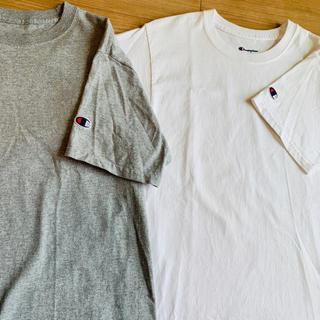 チャンピオン(Champion)の未使用品!激安!チャンピオンワンポイントTシャツ 2色セット(Tシャツ/カットソー(半袖/袖なし))