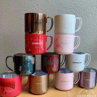 スターバックスコーヒー(Starbucks Coffee)のステンレスマグカップ 台湾スターバックス 中国 タンブラー 桜 ラベンダーピンク(タンブラー)