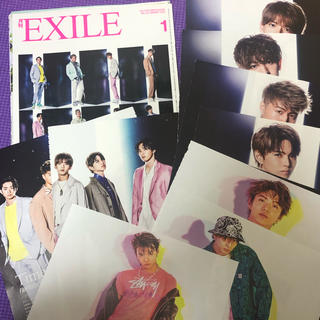 エグザイル トライブ(EXILE TRIBE)のfantastics 月刊EXILE (音楽/芸能)