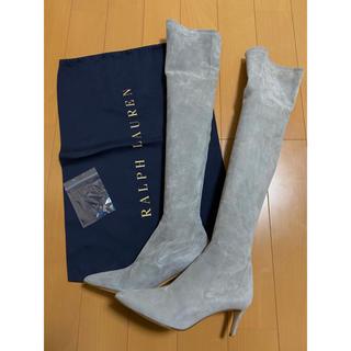 ラルフローレン(Ralph Lauren)の連休SALE♪ ☆美品☆ ラルフローレン スエード ロングブーツ 22.5cm(ブーツ)