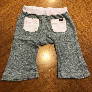 フィス(FITH)のFITH パンツ Sサイズ グレー 綿100% 男の子 女の子 80 半ズボン(パンツ)