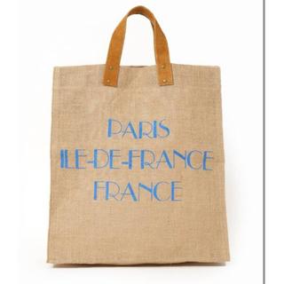 ドゥーズィエムクラス(DEUXIEME CLASSE)のMAISON BENGALメゾン ベンガルjute tote bag PARIS(トートバッグ)