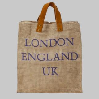 ドゥーズィエムクラス(DEUXIEME CLASSE)のメゾン ベンガル jute tote bag London(トートバッグ)