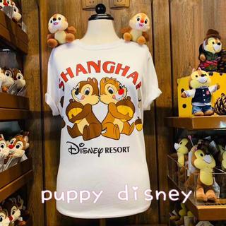 ディズニー(Disney)の全5色!洋服 チップ デール 上海ディズニー Tシャツ半袖 トップス 香港(キャラクターグッズ)