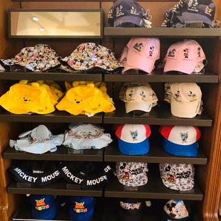 ディズニー(Disney)のプーさん ミッキー ミニー ドナルドチップデール 帽子カチューシャ上海ディズニー(キャラクターグッズ)