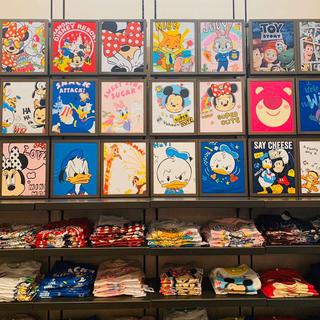 ディズニー(Disney)の上海ディズニー チップ ミニー ミッキー ダッフィー Tシャツ 半袖 トップス(キャラクターグッズ)