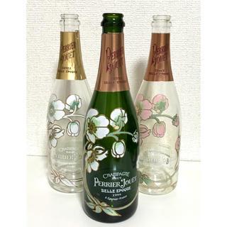 エポック(EPOCH)のベル エポック☆空き瓶 ヴィンテージボトル 3種類 まとめ売り☆ペリエ ジュエ(置物)