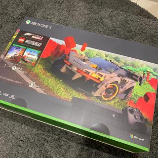 エックスボックス(Xbox)の新品 Xbox One X Forza Horizon 4 LEGO 同梱版(家庭用ゲーム機本体)