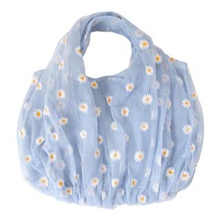 【 全3色 】 ✿ Daisy organdy tote bag .