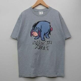 クマノプーサン(くまのプーさん)のイーヨー くまのプーさん ディズニー Tシャツ L(Tシャツ/カットソー(半袖/袖なし))