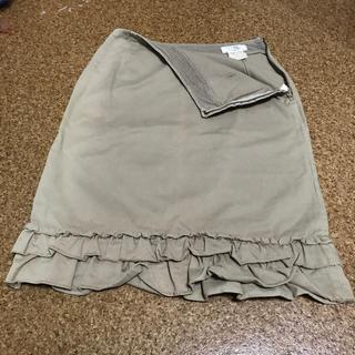 アイアイエムケー(iiMK)のiiMK スカート36(S)サイズ(ひざ丈スカート)