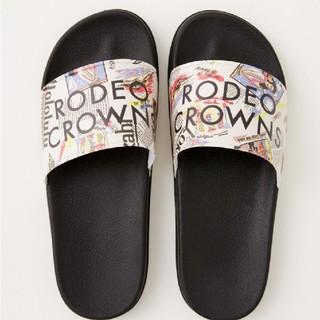 ロデオクラウンズワイドボウル(RODEO CROWNS WIDE BOWL)のロデオクラウンズALOHA SHOWER SANDALS(サンダル)