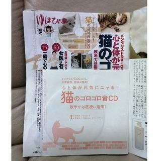 【新品未開封】猫のゴロゴロ音CD ゆほびか 2018年8月号付録 (ヒーリング/ニューエイジ)