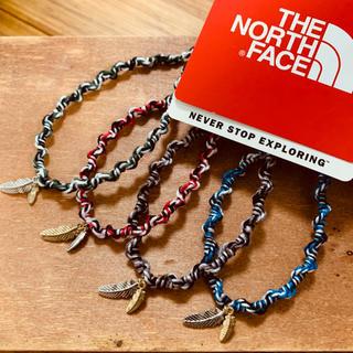 ザノースフェイス(THE NORTH FACE)の新作!大人気✨極太 フェザー  アンクレット ブレス(アンクレット)