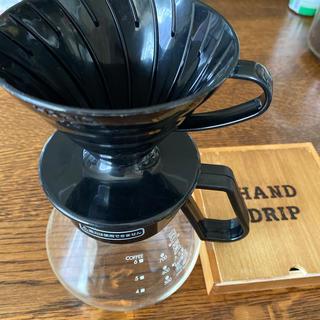 ハリオ(HARIO)のコーヒードリッパーセットHARIO(コーヒーメーカー)