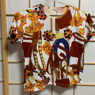 ロエベ(LOEWE)のロエベ スカーフ柄 Tシャツ Mサイズ(Tシャツ(半袖/袖なし))