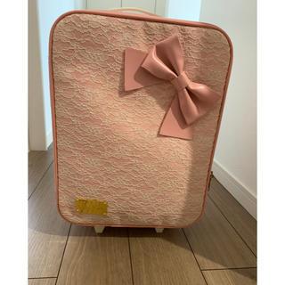 リズリサ(LIZ LISA)のリズリサ キャリーケース1泊用(スーツケース/キャリーバッグ)