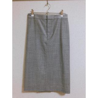 トゥモローランド(TOMORROWLAND)のGALERIE VIE ウールストレッチスカート(ひざ丈スカート)