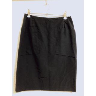 デプレ(DES PRES)のDES PRES コットンサテンスカート(ひざ丈スカート)