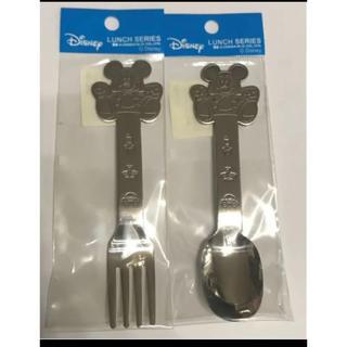 ディズニー(Disney)のミッキー スプーン&フォーク(スプーン/フォーク)