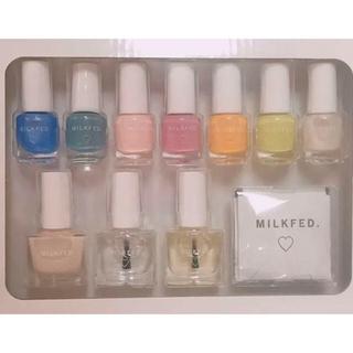 ミルクフェド(MILKFED.)のmini ミニ 2020年 3月号 付録MILKFED.ネイルセット(マニキュア)