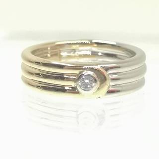 ヴァンクリーフアンドアーペル(Van Cleef & Arpels)の質屋出品ok ヴァンクリーフアーペル VCA 天然ダイヤモンド750リング11号(リング(指輪))