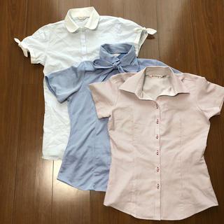 ORIHICA - レディースワイシャツ 三セット S〜M