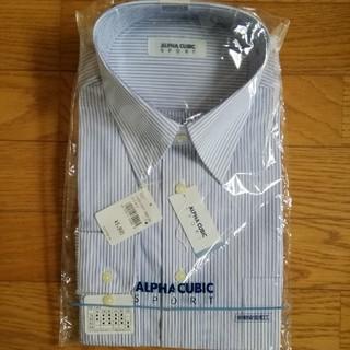 アルファキュービック(ALPHA CUBIC)の紳士ワイシャツ(新品)(シャツ)