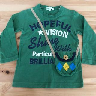 サンカンシオン(3can4on)の95センチ 3can4on ポシェットロンT(Tシャツ/カットソー)