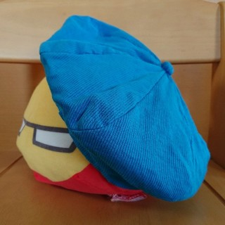 イーハイフンワールドギャラリー(E hyphen world gallery)のベレー帽 ぼうし blue(ハンチング/ベレー帽)
