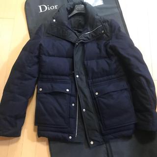 ディオールオム(DIOR HOMME)の15aw Dior homme バイカラー ウールダウンジャケット(ダウンジャケット)