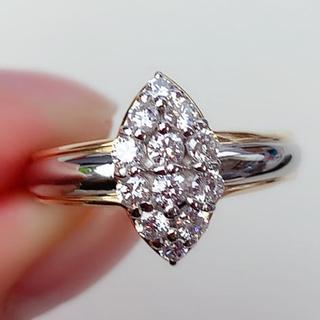 セリーヌ(celine)のセリーヌ リング CELINE ダイヤモンド 0.48ct PT900 750 (リング(指輪))