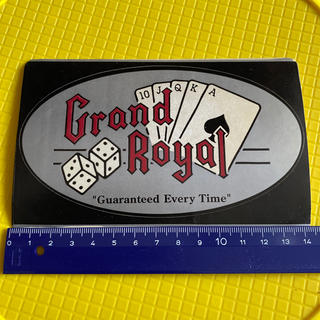 Grand Royal ステッカー(海外アーティスト)